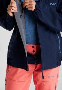 PYUA - GORGE - Ski jacket - navy blue - 4