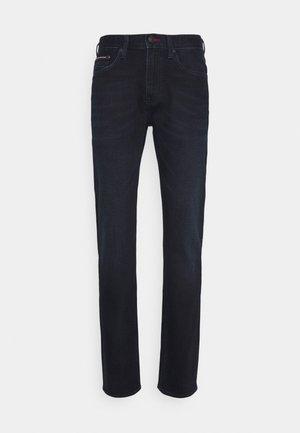 STRAIGHT DENTON JUDE - Džíny Straight Fit - blue black