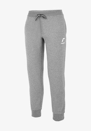 Tracksuit bottoms -  light grey / white