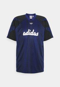 adidas Originals - BALL TEE - Triko spotiskem - victory blue/black - 0