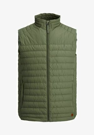 JJBASE LIGHT VEST - Smanicato - dusty olive