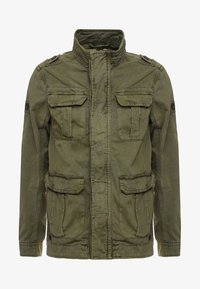 INDICODE JEANS - HUCKLE - Summer jacket - army - 4