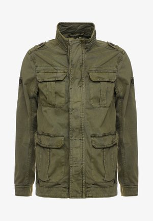 HUCKLE - Summer jacket - army