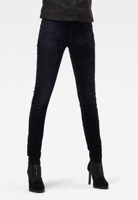 G-Star - MID SKINNY - Jeans Skinny Fit - mazarine iced flock - 0