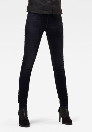 MID SKINNY - Jeans Skinny Fit - mazarine iced flock