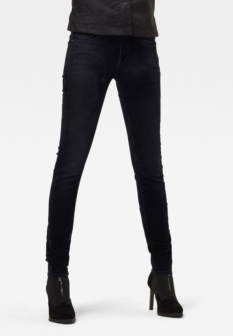 G-Star - MID SKINNY - Jeans Skinny Fit - mazarine iced flock