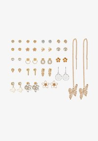 ALDO - GALELINIA 20 PACK - Boucles d'oreilles - silver-coloured - 3