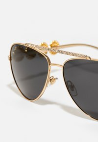 Versace - Sunglasses - gold-coloured/black - 3