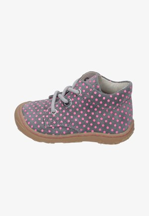 Lace-ups - graphite/pink