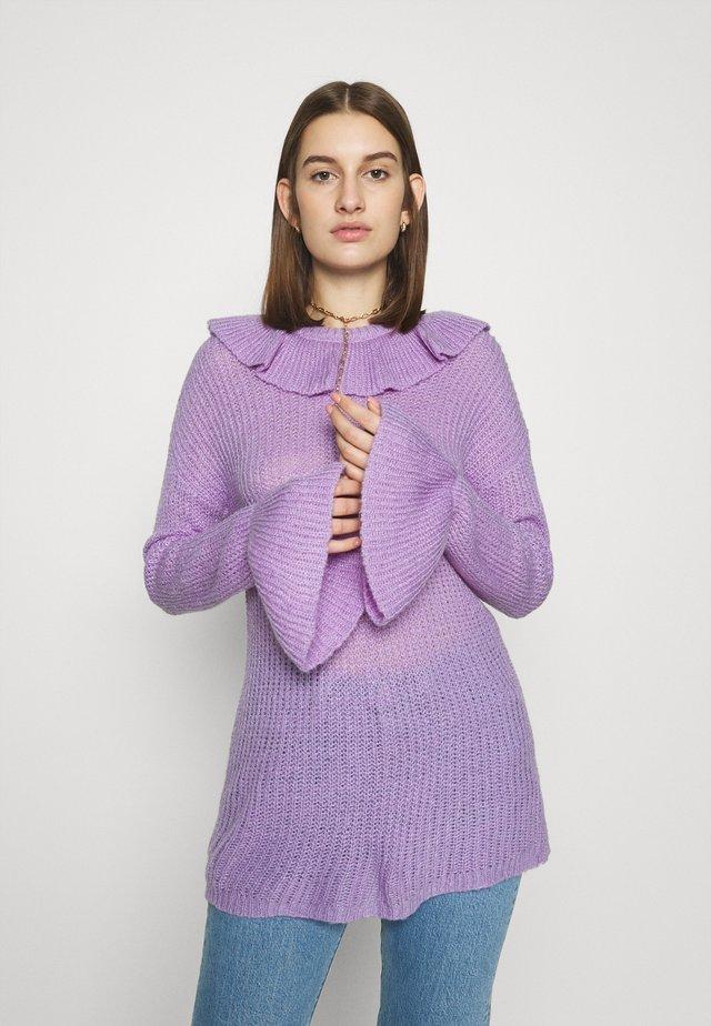 RUFFLE - Neule - lavender