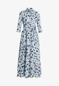 Banana Republic - SAVANNAH MAXI DRESS ETCHED FLORAL - Maxi dress - dark blue - 3