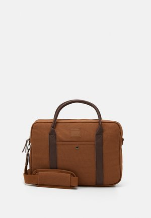 JACCANVAS BRIEFCASE - Aktovka - rubber