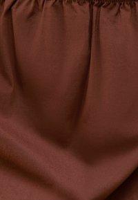 Bershka - Vapaa-ajan mekko - brown - 5