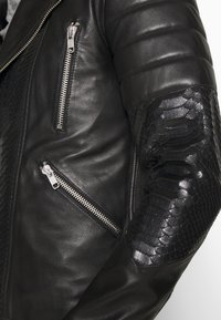Serge Pariente - GLADATORPYTON - Leather jacket - black - 5