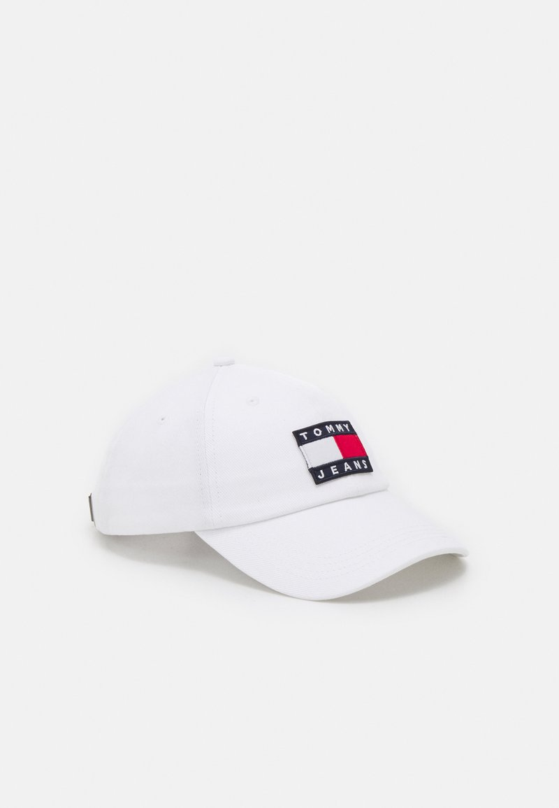 Tommy Jeans - HERITAGE UNISEX - Cap - white