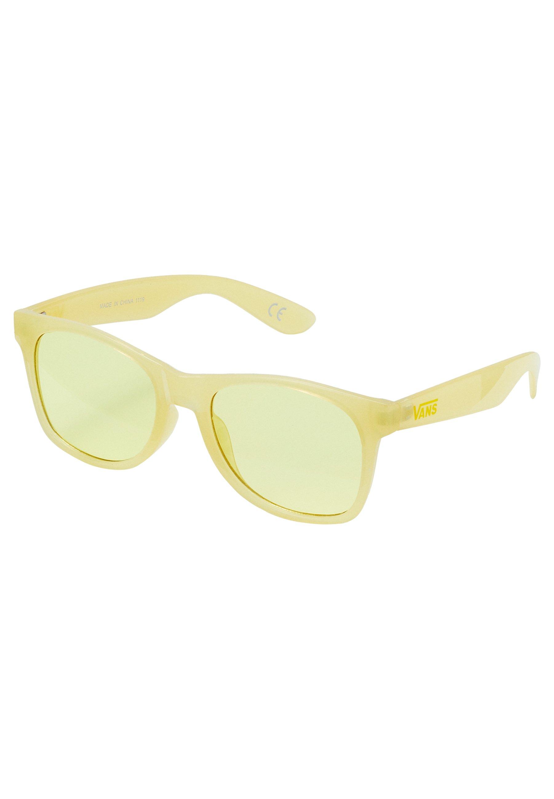 Vans Spicoli Flat Shades Sunglasses Yellow Cream Zalando Ie