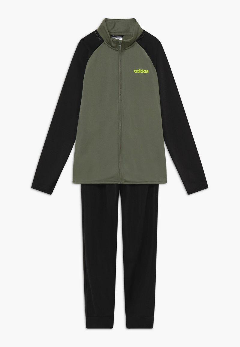 adidas Performance - ENTRY UNISEX SET  - Tracksuit - green