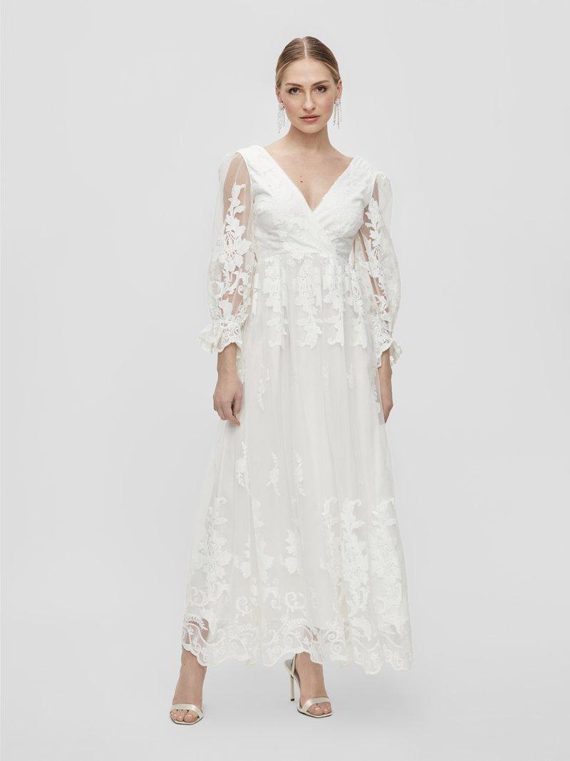 YAS - YASBRIDIE MAXI DRESS - Společenské šaty - star white