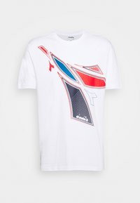 Diadora - FREGIO CLUB - Print T-shirt - optical white - 0