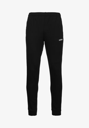 Tracksuit bottoms - black  white