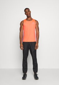 ASICS - SINGLET - Sports shirt - flash coral - 1