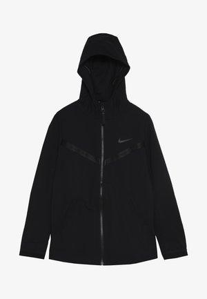 TECH PACK HOODIE - Zip-up hoodie - black/thunder grey