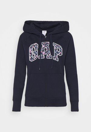 NOVELTY - Zip-up hoodie - navy uniform