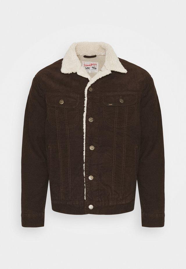 SHERPA  - Lett jakke - winter brown
