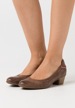 COURT  - Escarpins - brown