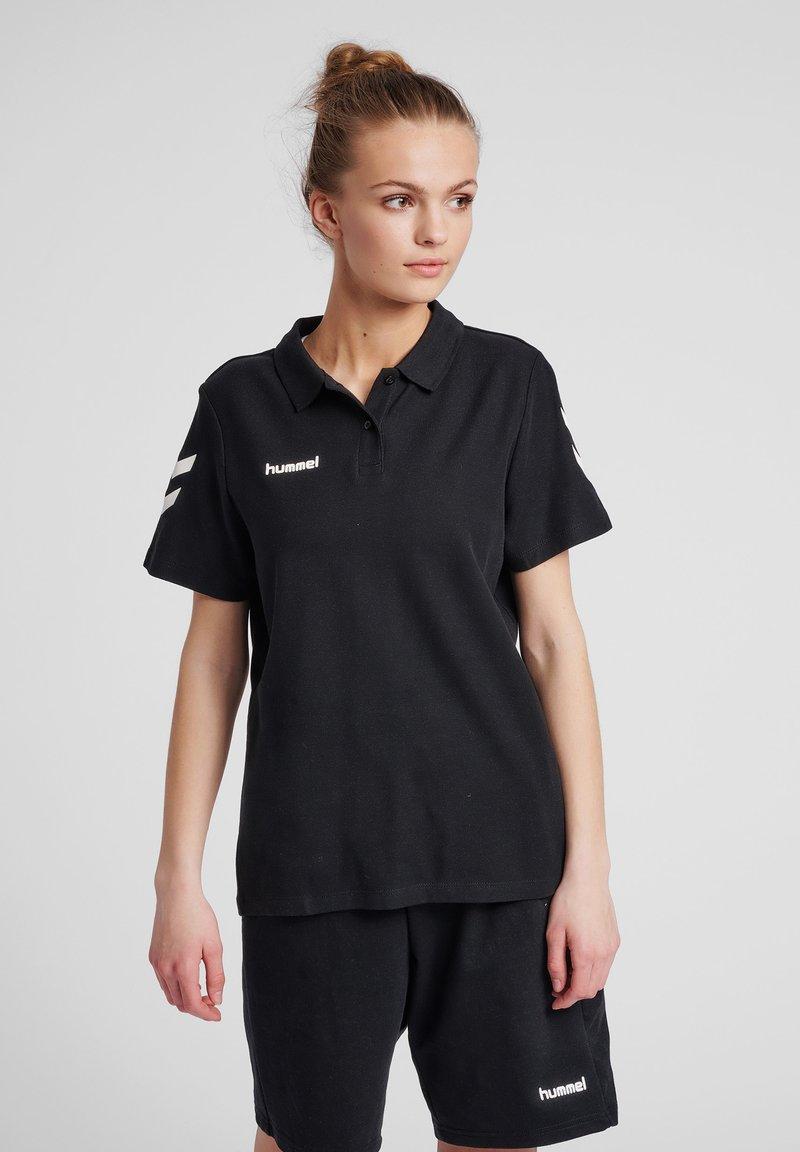 Hummel - Polo shirt - black