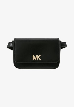 MOTT BELT BAG - Ledvinka - black