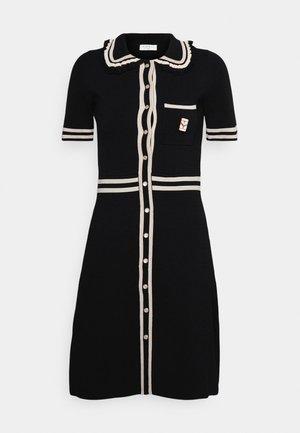 Shirt dress - noir