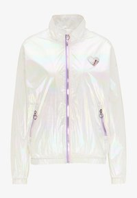 white holographic