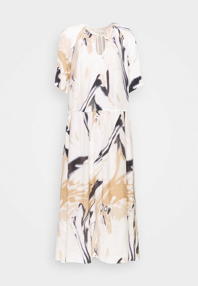 HAZINI DRESS - Maxi-jurk - natural