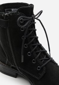 Richter - MARY - Lace-up ankle boots - black - 5