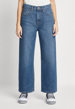 ONLHOPE LIFE - Straight leg jeans - medium blue denim