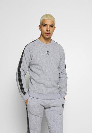 Sweatshirt - grey marl /black