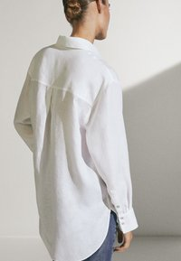 Massimo Dutti - Button-down blouse - white - 2