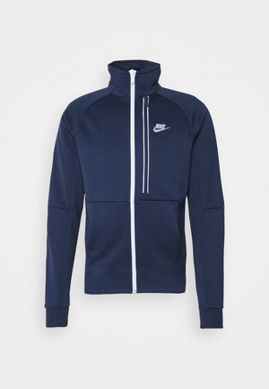 TRIBUTE - Training jacket - midnight navy/white