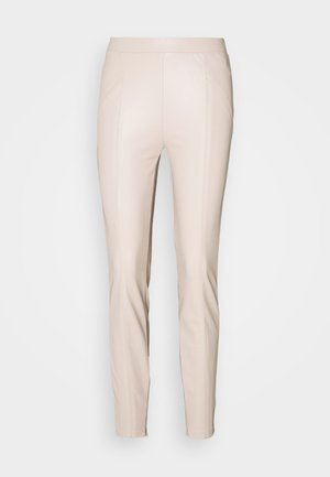 NMDUST LEGGING - Leggings - Trousers - taupe gray