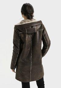 camel active - Short coat - dark brown - 2