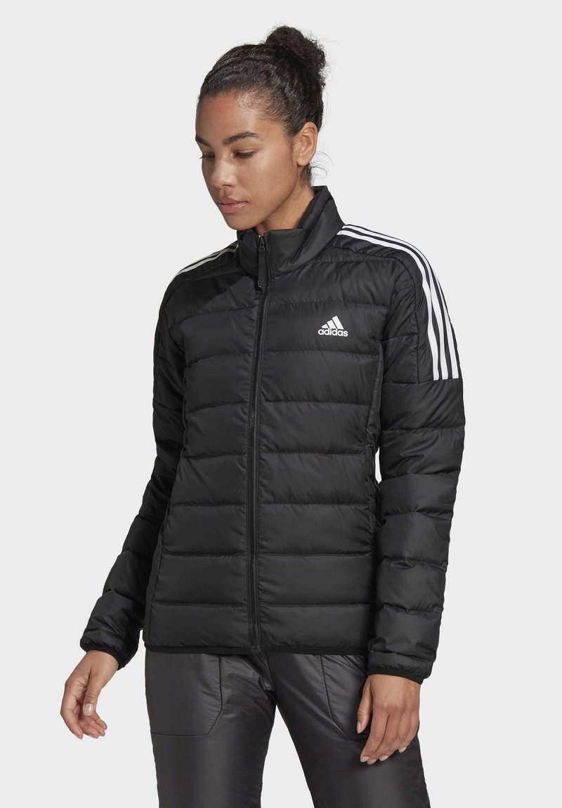 adidas Performance - ESSENTIALS PRIMEGREEN OUTDOOR DOWN - Down jacket - black
