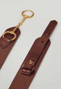 Massimo Dutti - MIT DOPPELTER TRENSE - Waist belt - brown - 5