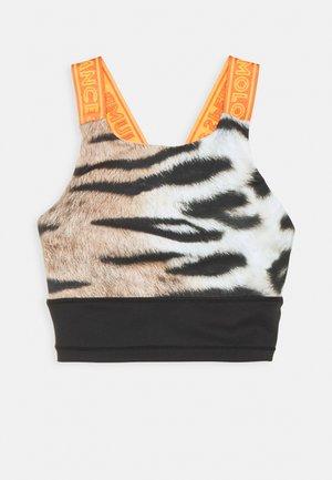 OLIVA - Reggiseno sportivo - wild tiger