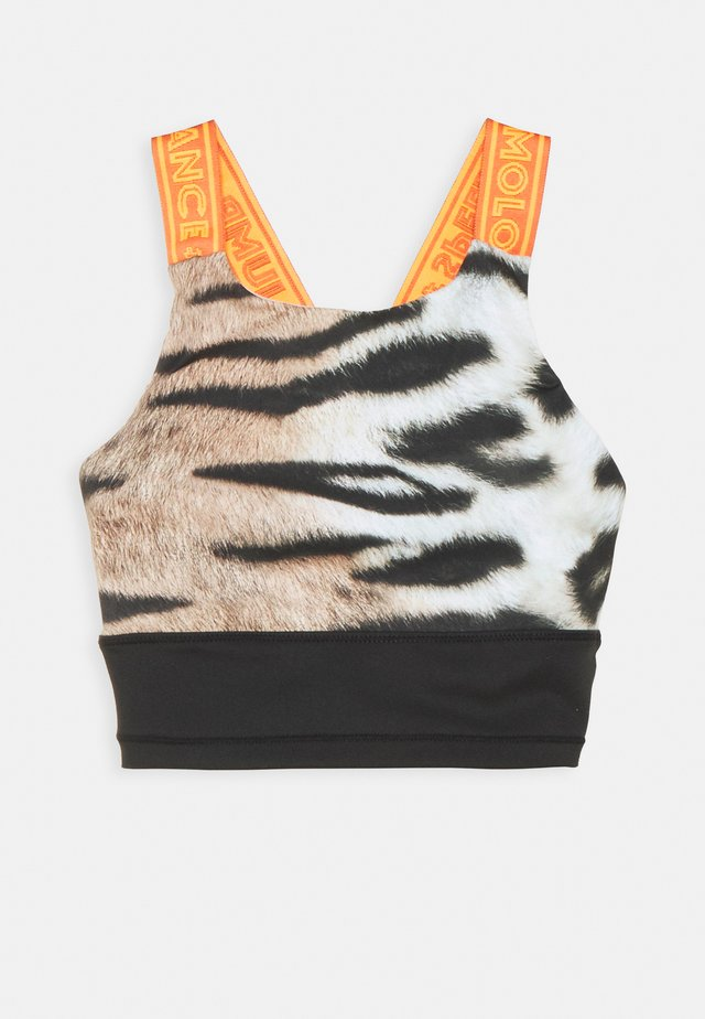 OLIVA - Soutien-gorge de sport - wild tiger