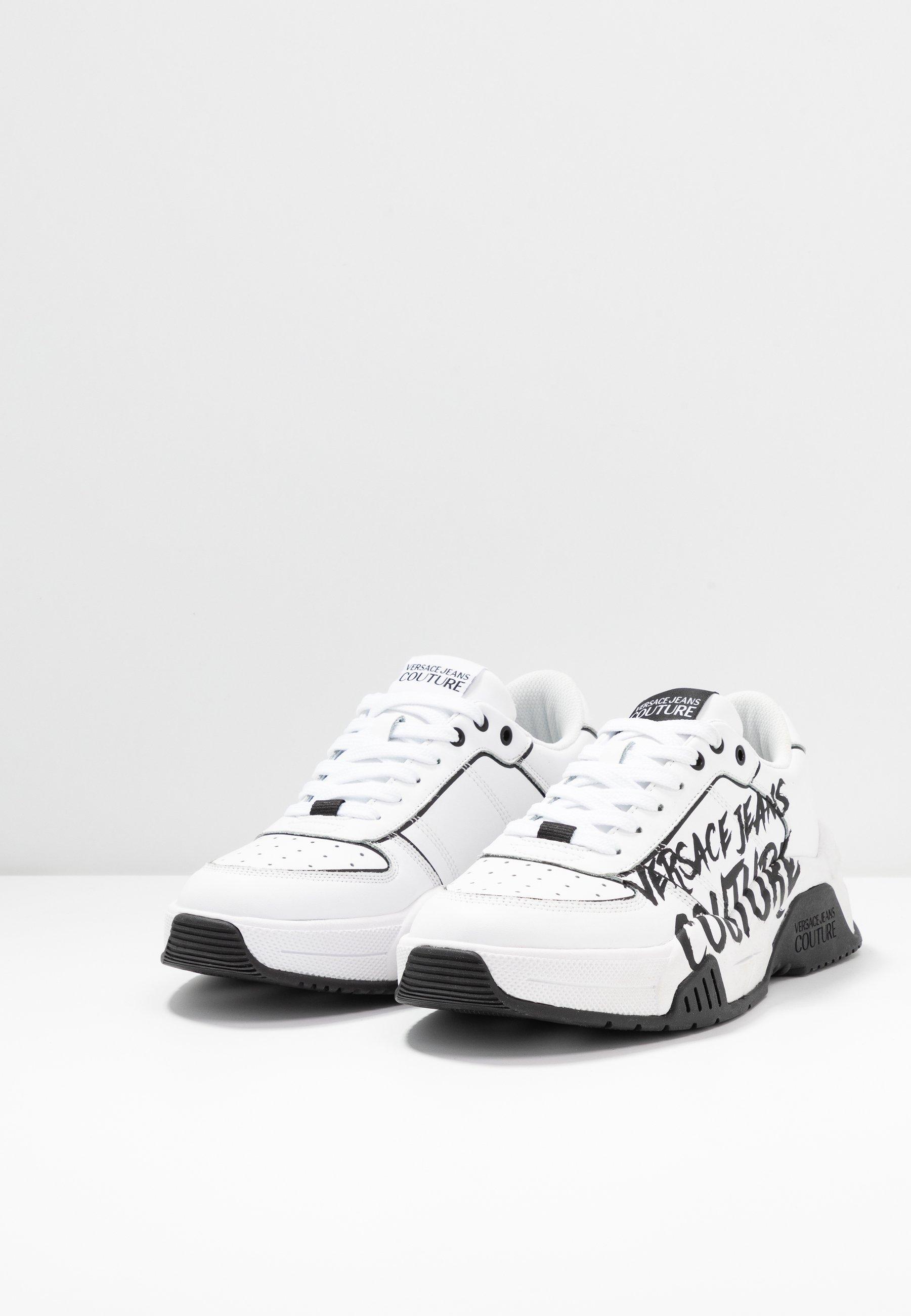 Versace Jeans Couture Sneaker low - bianco ottico/weiß - Herrenschuhe uIk7a