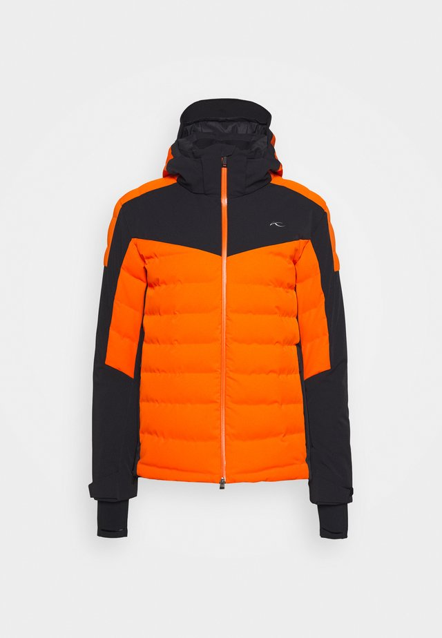 MEN SIGHT LINE  - Skijakke - orange/black