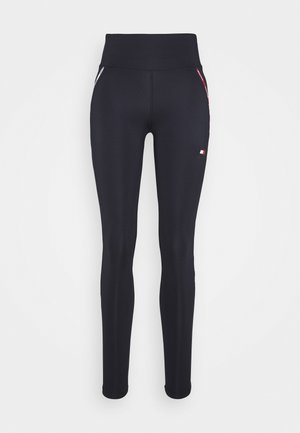 LEGGING PIPING - Leggings - blue