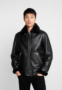 Schott - Leather jacket - black - 0