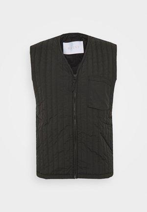 LINER VEST UNISEX  - Waistcoat - black